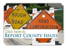 Report County Road Issues